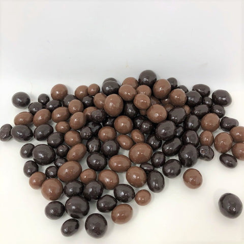Chocolate covered Coffee Beans Milk and Dark Chocolate Combo 2 pounds