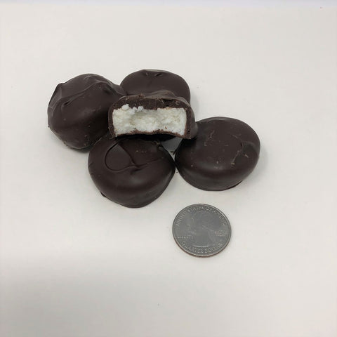 Gourmet Sugar Free Peppermint Patty Dark Chocolate Candy 1 pound