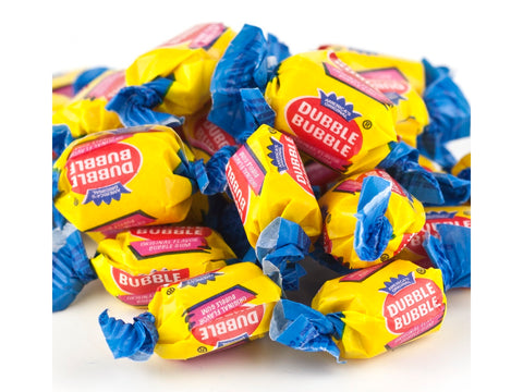 Dubble Bubble Bubblegum nostalgic bubble gum 2 pounds
