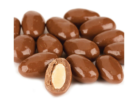 Almonds Milk Chocolate covered Almonds 1 pound