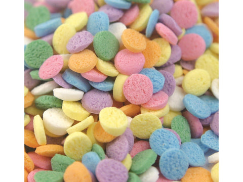 Sequin Shapes Pastel Sequins Bakery Topping Sprinkles 1 pound
