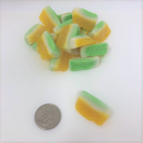 Gummi Pina Colada Slices wedges bulk gummy candy 4.4 pound