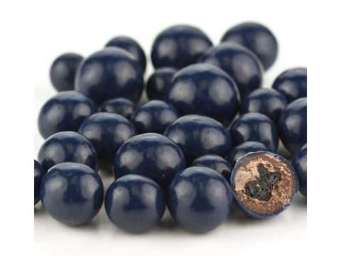 Blue Chocolate Covered Dried Blueberries 1 pound