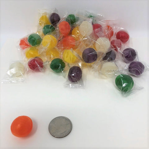 Sour Balls 5 pounds assorted sour candy wrapped hard candy bulk candy