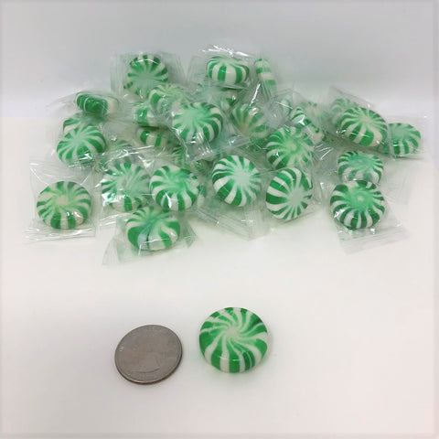 Spearmint Starlight Mints 5 pound Spearmint Star Light Starlite Mint Hard Candy