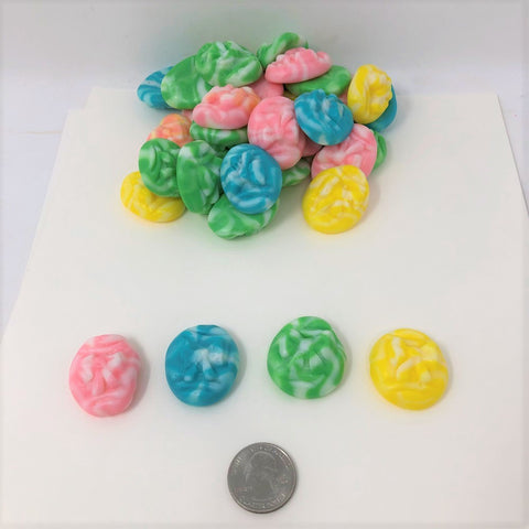 Gummi Eggs Swirly Eggs bulk gummy candy 1 pound Easter Gummies