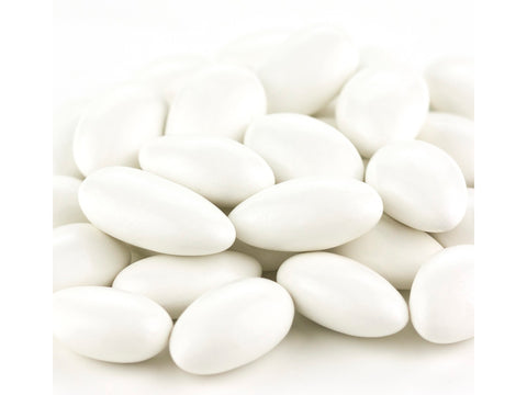 White Jordan Almonds white candy almonds 5 pounds