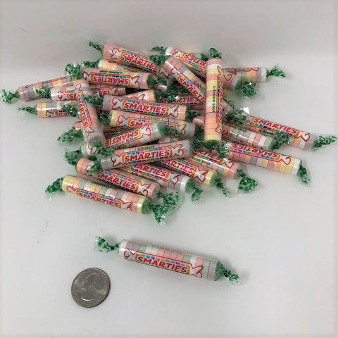 Sour Smarties 1 pound X-Treme Sour Smarties bulk wrapped candy