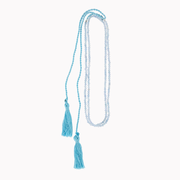 Tassel necklace, Beads jewellery, Gemstone beads necklace, Tassels, Boho style, Tassel jewellery