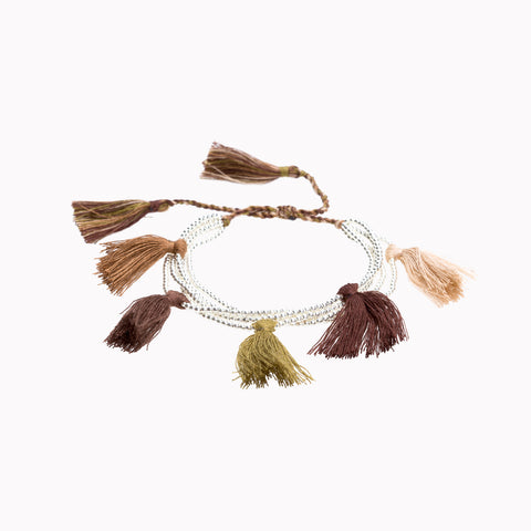Tassel bracelet, Stack bracelets, tassel jewellery, Bohemian style, Friendship bracelet, arm party, gypsy soul