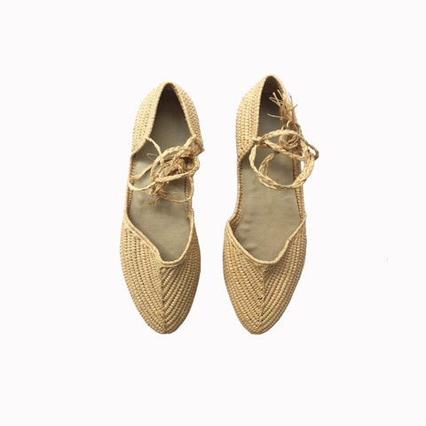 Maroccan flats, Straw shoes, Resort flats, Woven flats womens, Pointed flat shoes, Summer shoes, Rafia shoes, Natural rafia