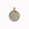 coin pendant, medallion, ethnic jewellery, vintage coins, statement necklace