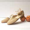 Rafia women shoes, Wedding shoes, Rafia sandals, Women resort shoes, Natural rafia
