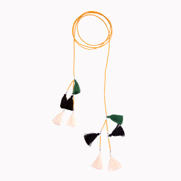 ISABELLE TASSEL NECKLACE