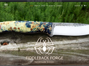 No More Fiddleback Forge Knives at Fiddleback Outpost?!