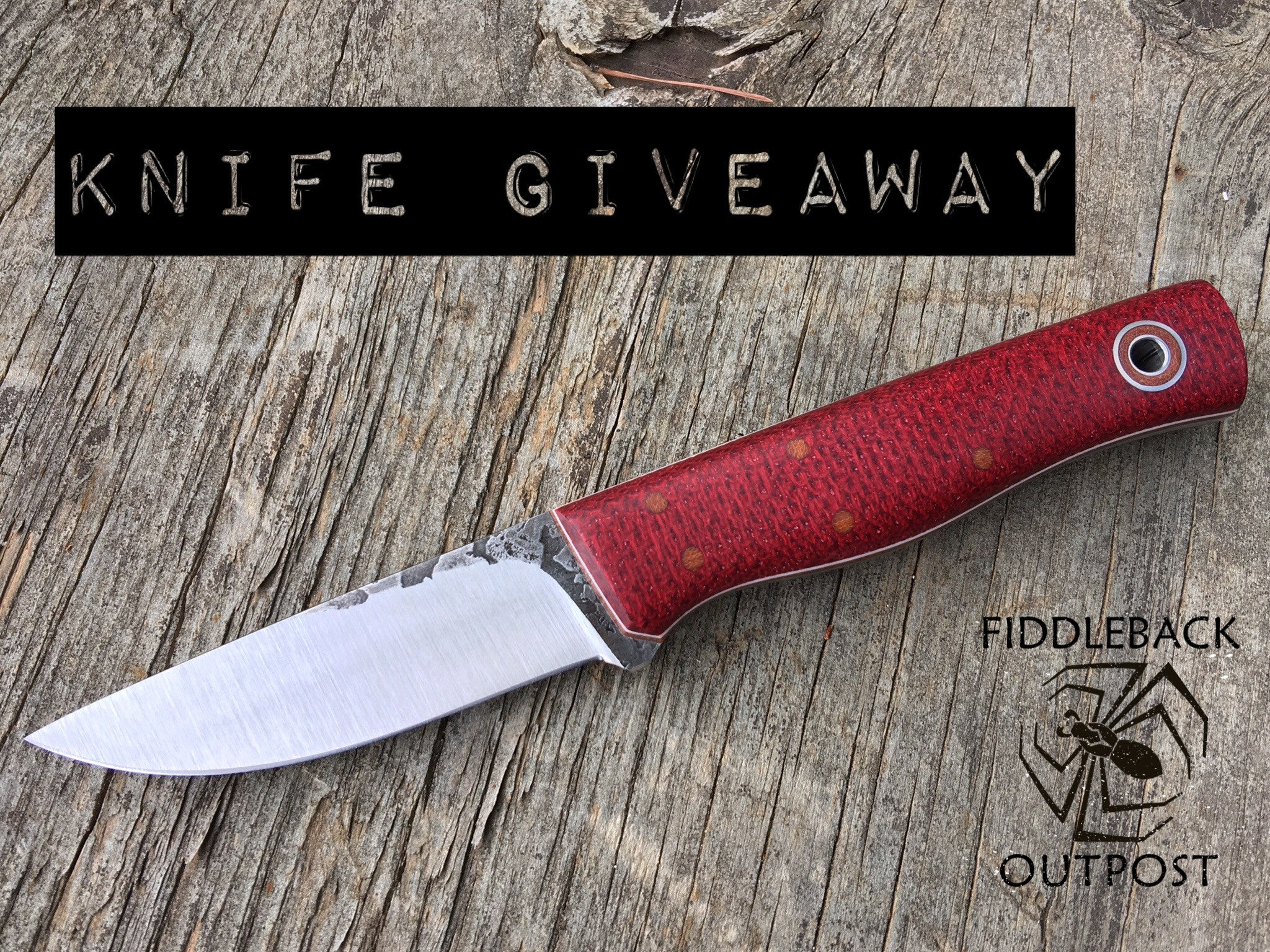 Fiddleback Forge Knife Giveaway from Fiddleback Outpost