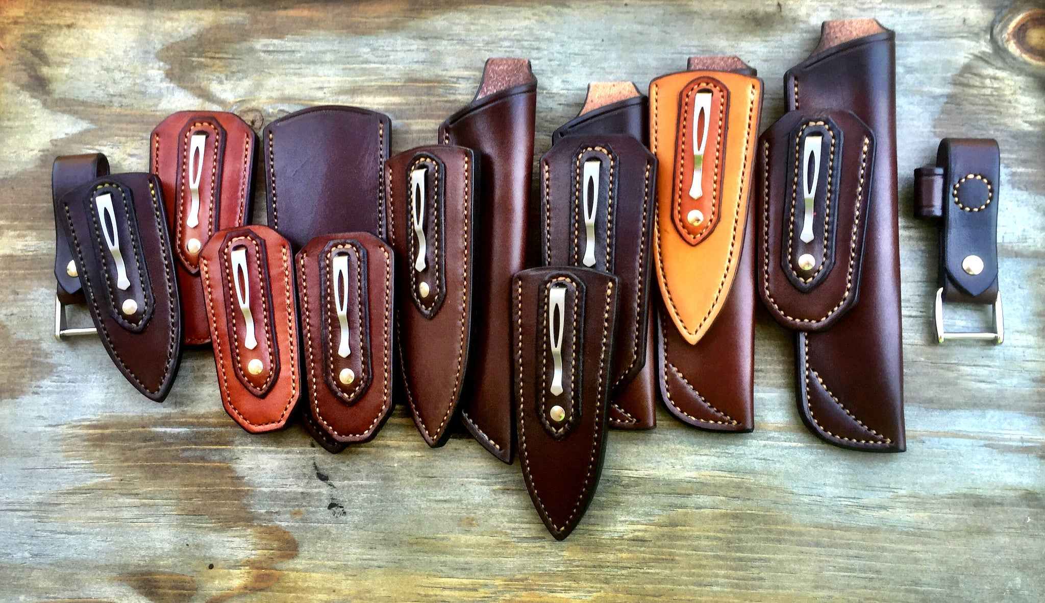The Making Of A Quality Leather Sheath Fiddleback Outpost