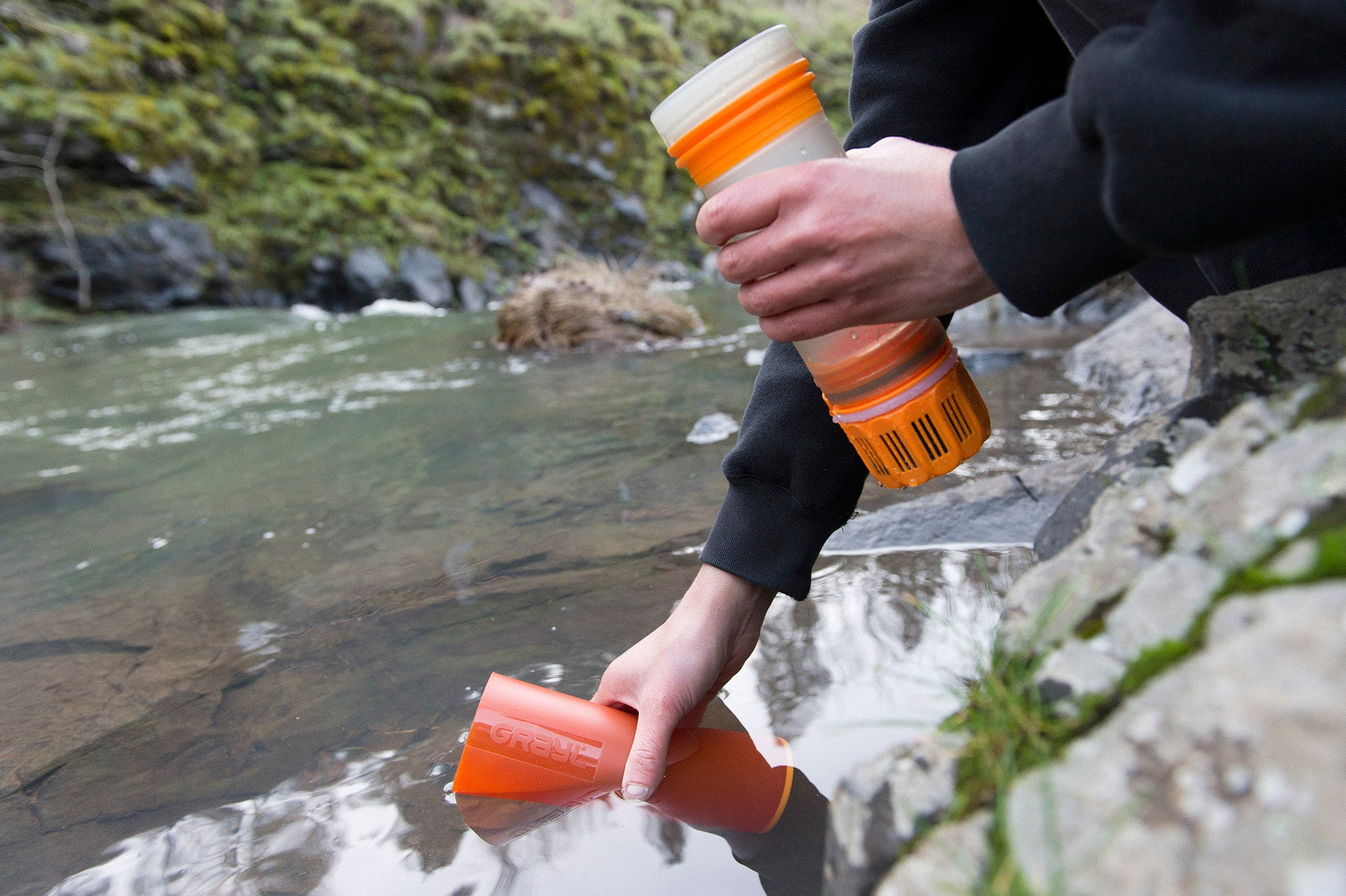 Grayl Ultralight Bottle - Water Purification System & Filter