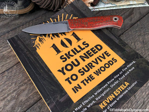 101 Skills You Need to Survive in the Woods - By Kevin Estela