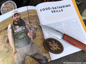 101 Skills You Need to Survive in the Woods - By Kevin Estela SIGNED COPY - Fiddleback Outpost