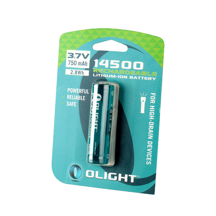Olight - 14500 Lithium-Ion 750mAh Battery (Replaces AA)