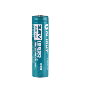 Olight - 18650 Lithium-Ion 3600mAh Battery - Fiddleback Outpost