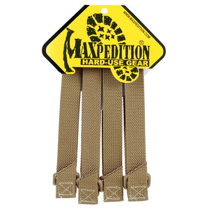 "Maxpedition - 5"" TacTie Straps - Fiddleback Outpost"