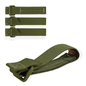 "Maxpedition - 3"" TacTie Straps - OD Green - Fiddleback Outpost"