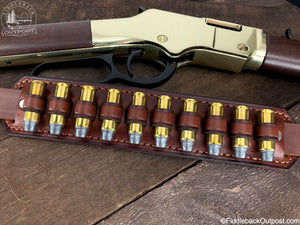 Ammo Carrier for Rifle Sling - RLO Custom Leather