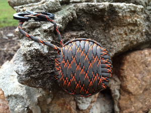 Fire Water Survival - AEGIS Paracord Wrapped Pocket Survival Kit
