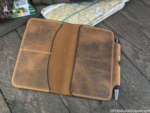 Diomedes Industries - Field Notes Cover - Fiddleback Outpost