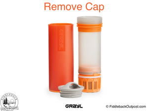 Grayl - Ultralight Water Bottle - Purifier [+Filter] - Orange