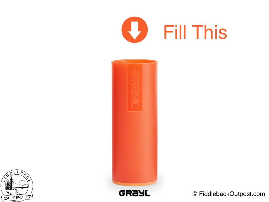 0d2c74c34c Grayl - Ultralight Water Bottle - Purifier [+Filter] - Orange ...