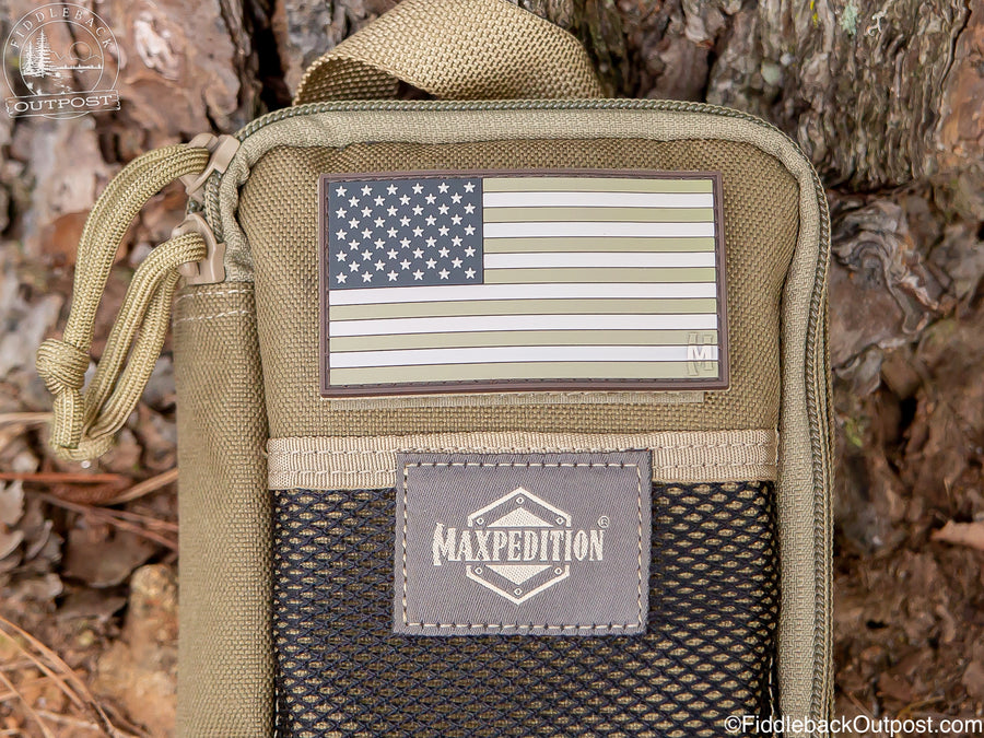 Maxpedition - USA Flag Morale Patch - Large - Fiddleback Outpost