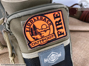 Fiddleback Outpost Patch - Fire Patch - Fiddleback Outpost