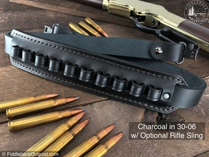 RLO Custom Leather - Ammo Carrier for Rifle Sling