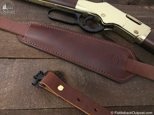 Adjustable Shotgun Sling Pad - RLO Custom Leather