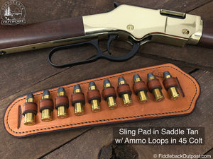 RLO Custom Leather - Adjustable Rifle Sling Pad