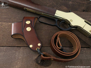 RLO Custom Leather - No Drill - Harnessed Rifle Sling
