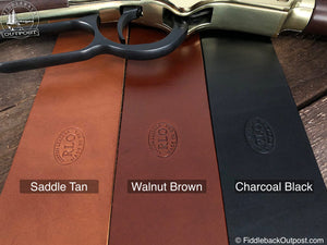 RLO Custom Leather Colors for Rifle Slings, Ammo Carriers, Butt Stock Covers, Sling Pads