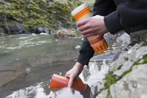 Grayl - Ultralight Water Bottle - Purifier [+Filter] - Black