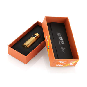 Olight - S Mini - Limited Edition - Brass - Fiddleback Outpost