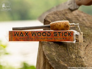 Wax Wood Stick - High Heat Output Fire Tinder