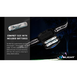 Olight - H05S Active - Headlamp - Fiddleback Outpost