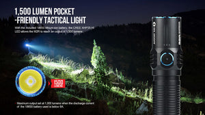 Olight - M2R Warrior - Fiddleback Outpost