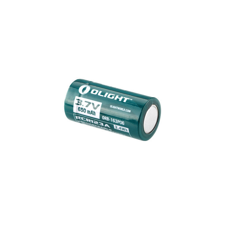 Olight - Rechargeable Lithium-ion Battery - RCR123A