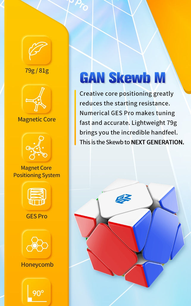 GAN SKEWB M (Enhanced, 32M)
