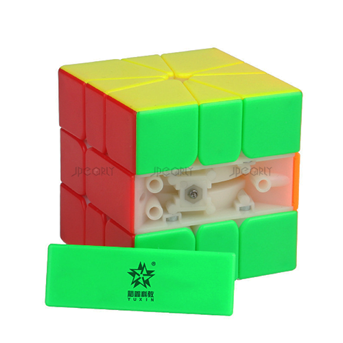 Yuxin - Little Magic Square-1 M (Stickerless Yellow/White)