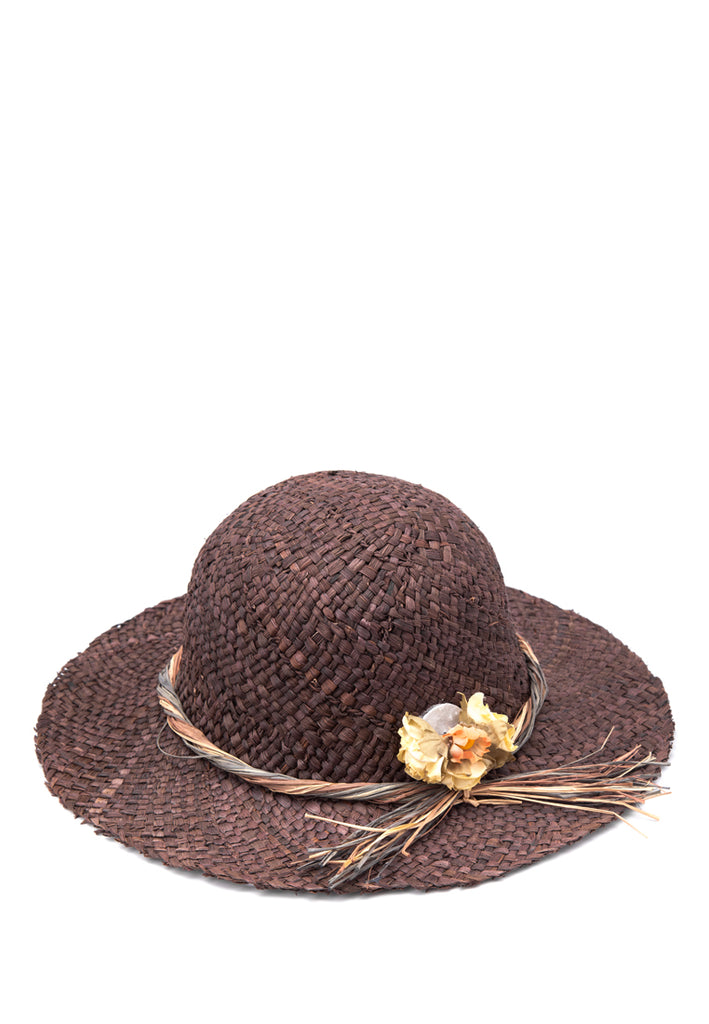 Cloche Hat with Flower