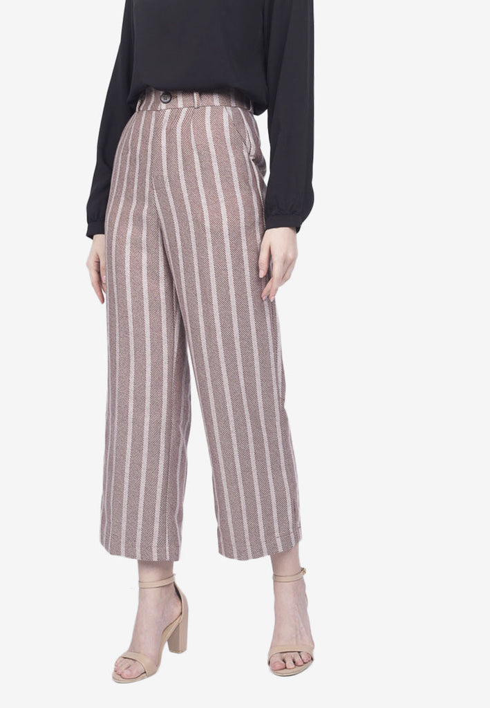 Striped Tailored Pants
